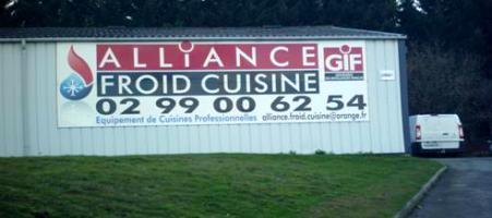 Agence de Noyal sur Vilaine Alliance Froid Cuisine