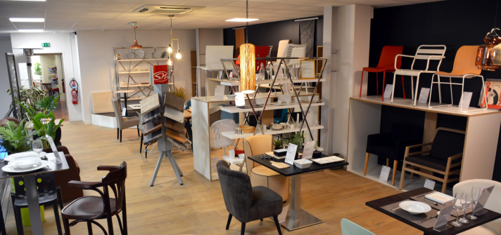 Showroom mobilier Alliance Froid Cuisine